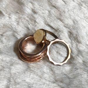 💸$5 Add On💸 Rose Gold Ring Set
